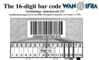 WAN-IFRA Bar Code for paper reels